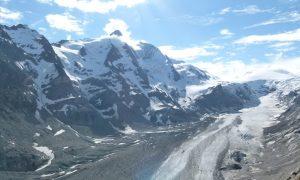 Carretera alpina del Grossglockner en Austria