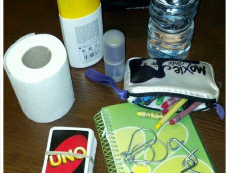 10 cosas que hay que llevar en la mochila si viajas con niños