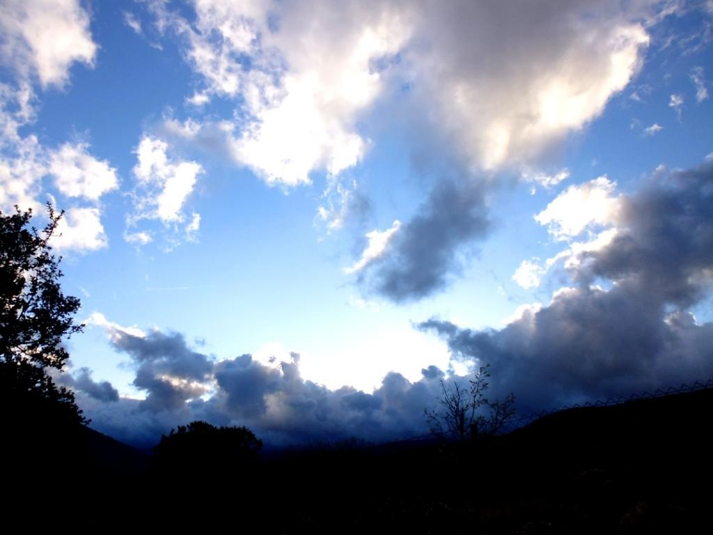 Atardecer en el valle del Lozoya