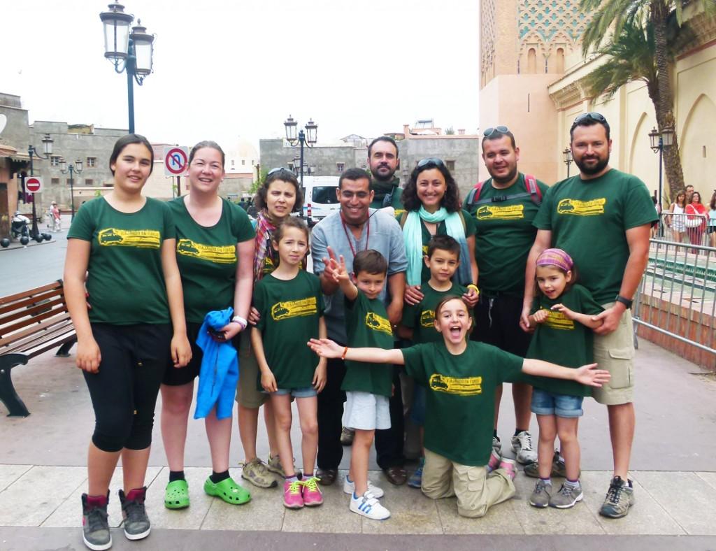 El equipo de Viajando En Furgo y Hamid