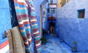 Chaouen, pueblo azul en las verdes montañas del Rif