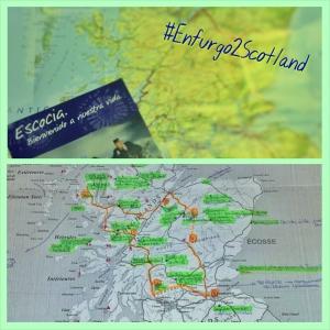 Mapa de Escocia Scotland