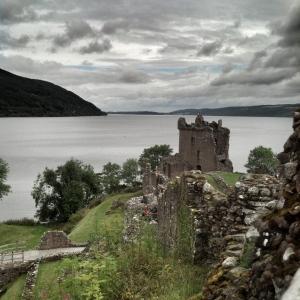 Urquhart castle Escocia