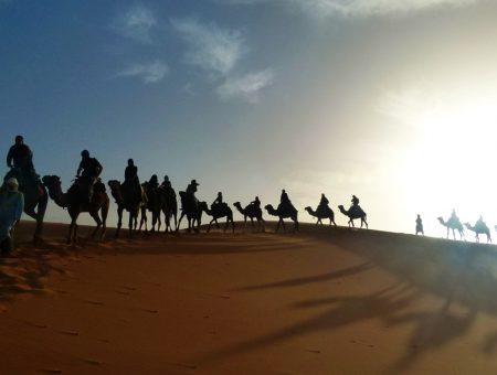Una noche en el desierto de Marruecos