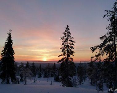 Nuestra Navidad en Laponia: tras la aurora boreal