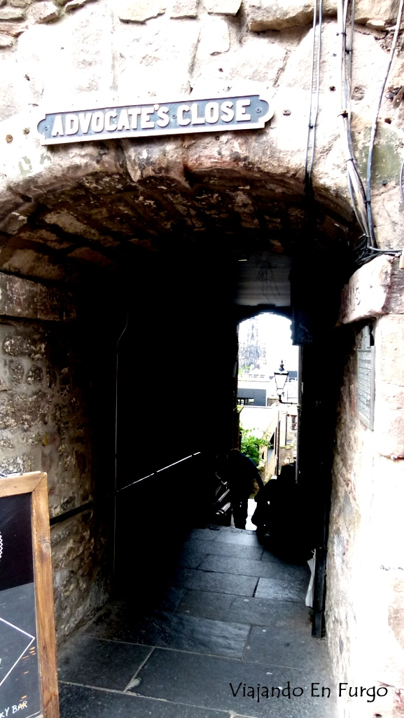 Close en Edimburgo