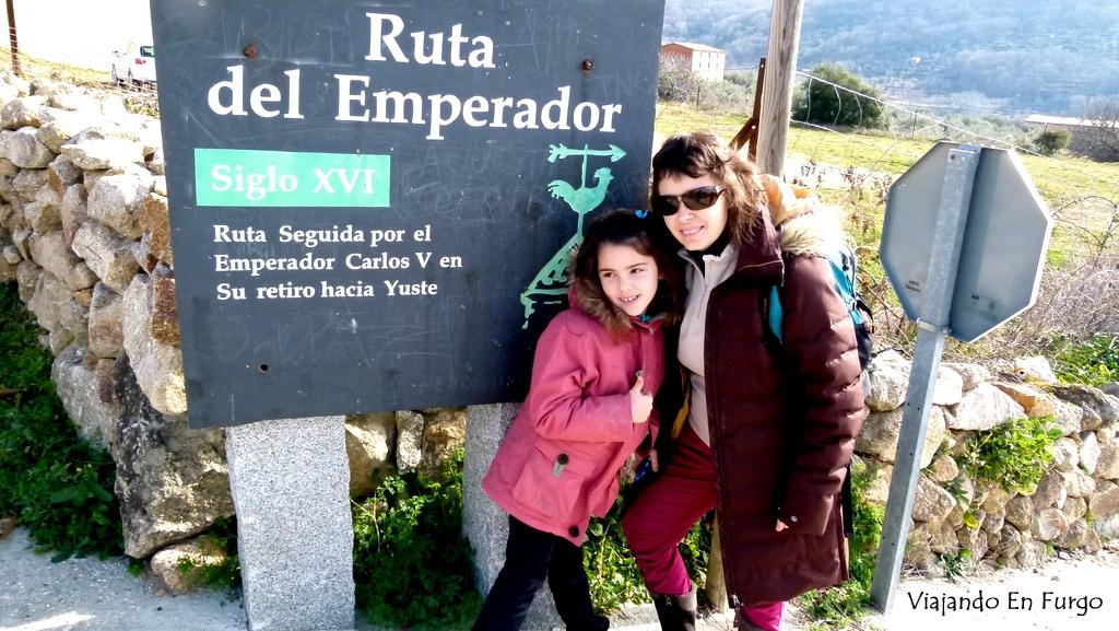 Ruta del emperador en Aldeanueva