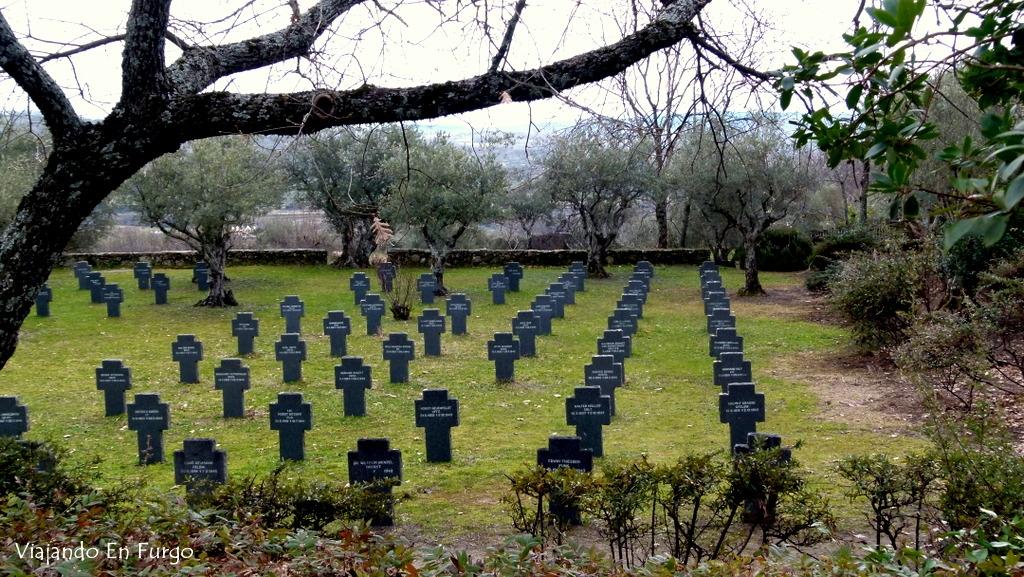 Cementerio alemán Cuacos de Yuste