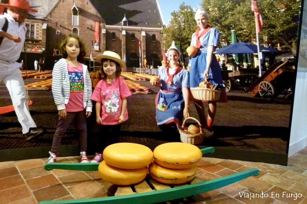 Alkmaar ciudad quesos