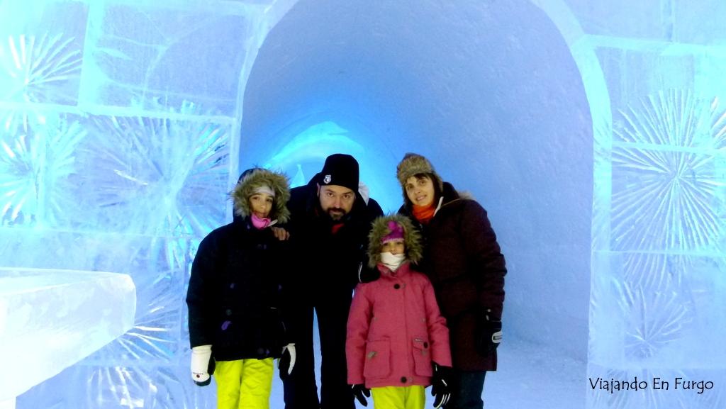 Snow Village, hotel de hielo en Kittilä