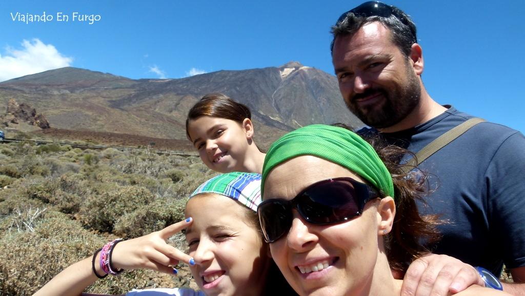 Viajando En Furgo y el Teide