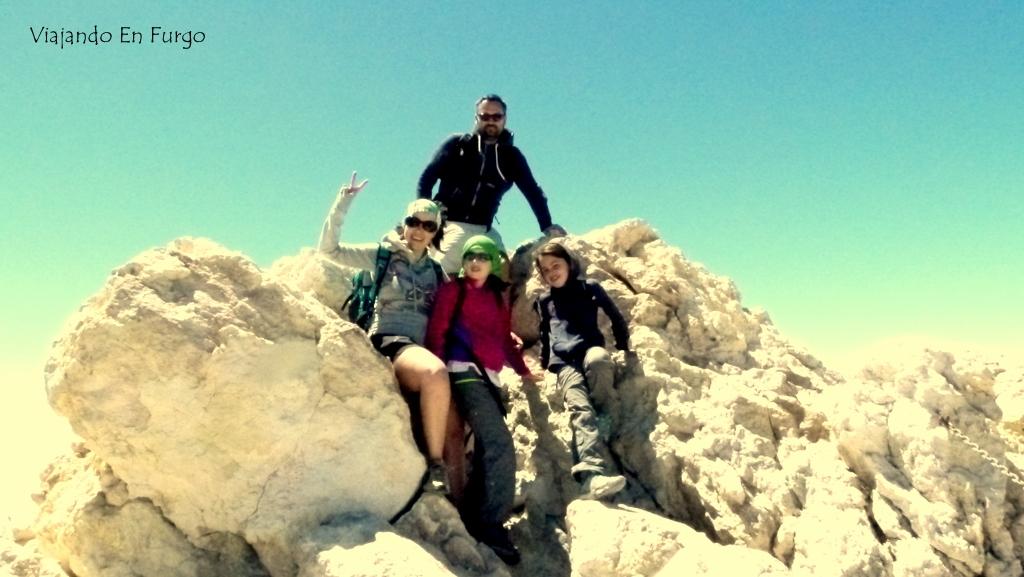 En la cima del Teide