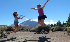 Consejos para subir al Teide con niños