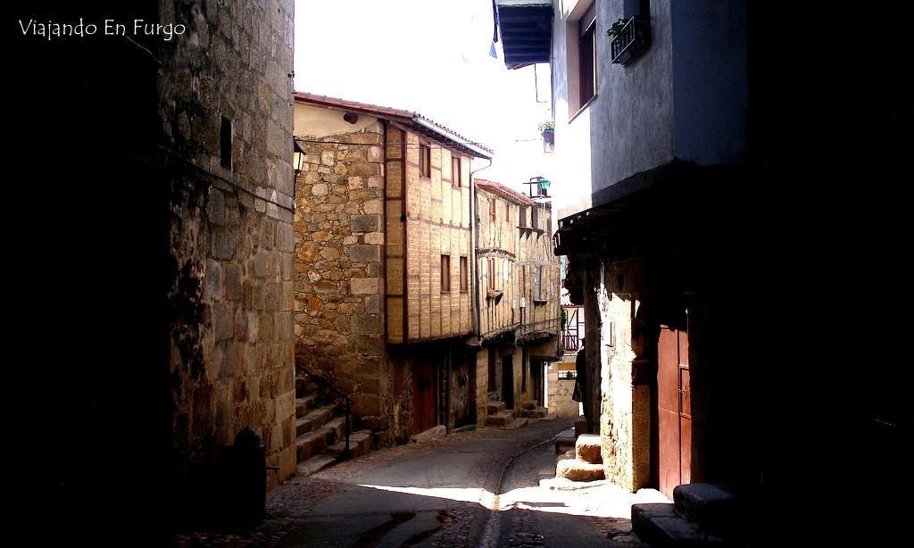 San Martín de Trevejo en nuestra visita en 2006