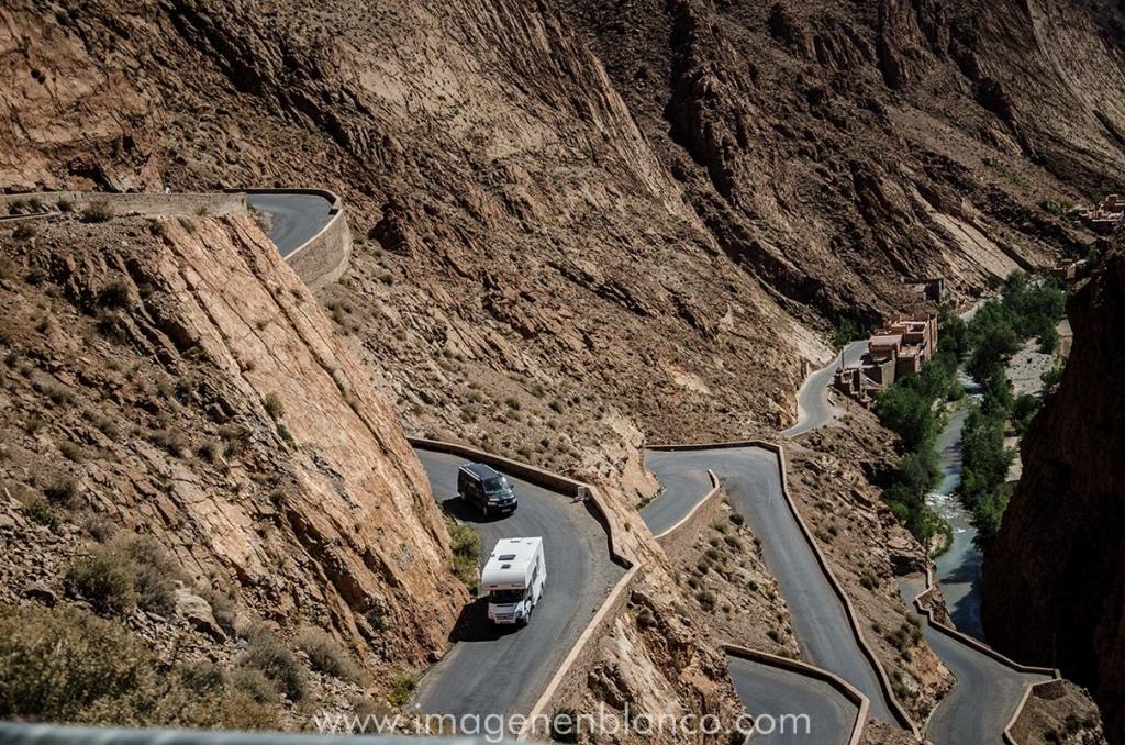 Marruecos en furgo Garganta del Dades