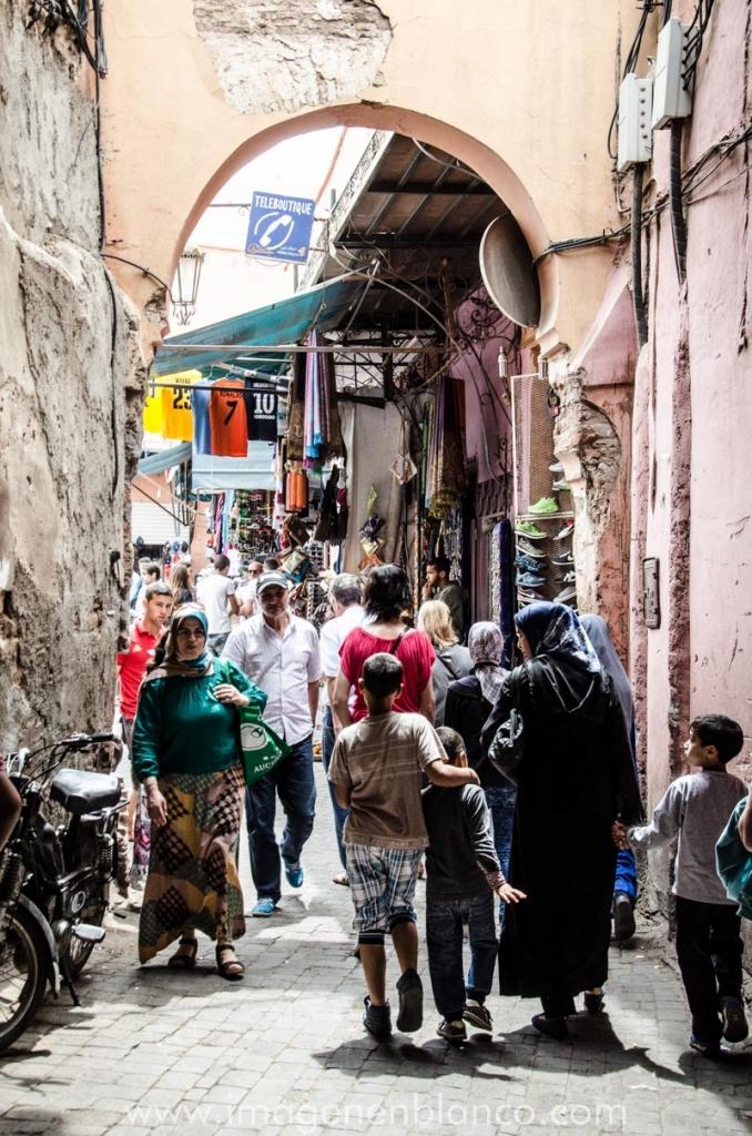 Marruecos en furgo Marrakech