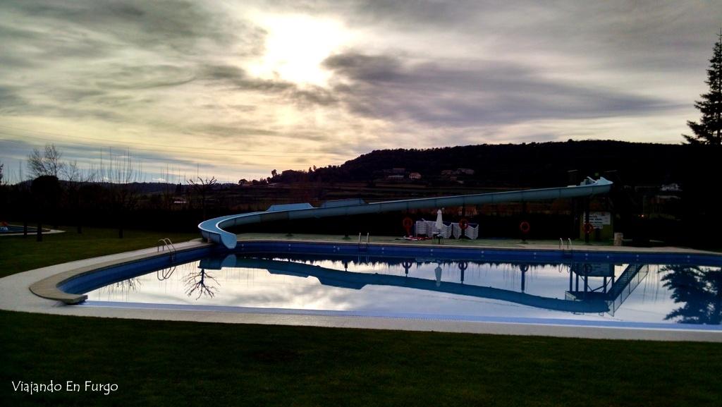 Piscina ext Berga Resort