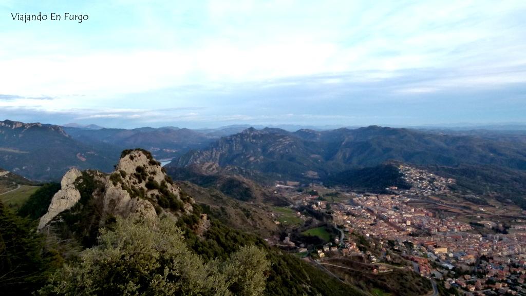 Vistas desde santuario de Queralt
