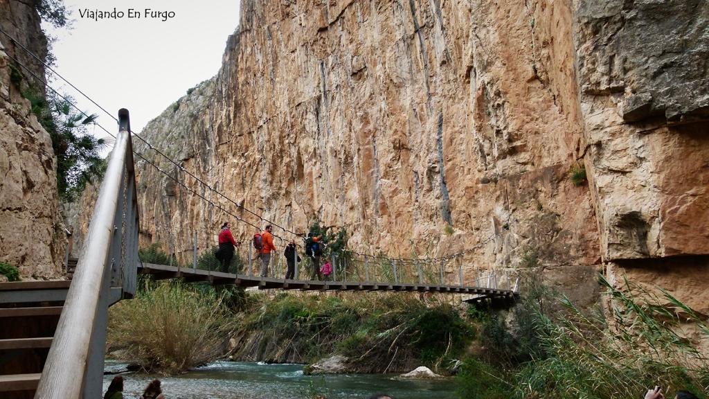 Puente colgante 2 Chulilla