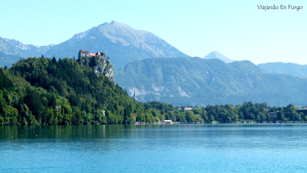 Bled Eslovenia en furgo