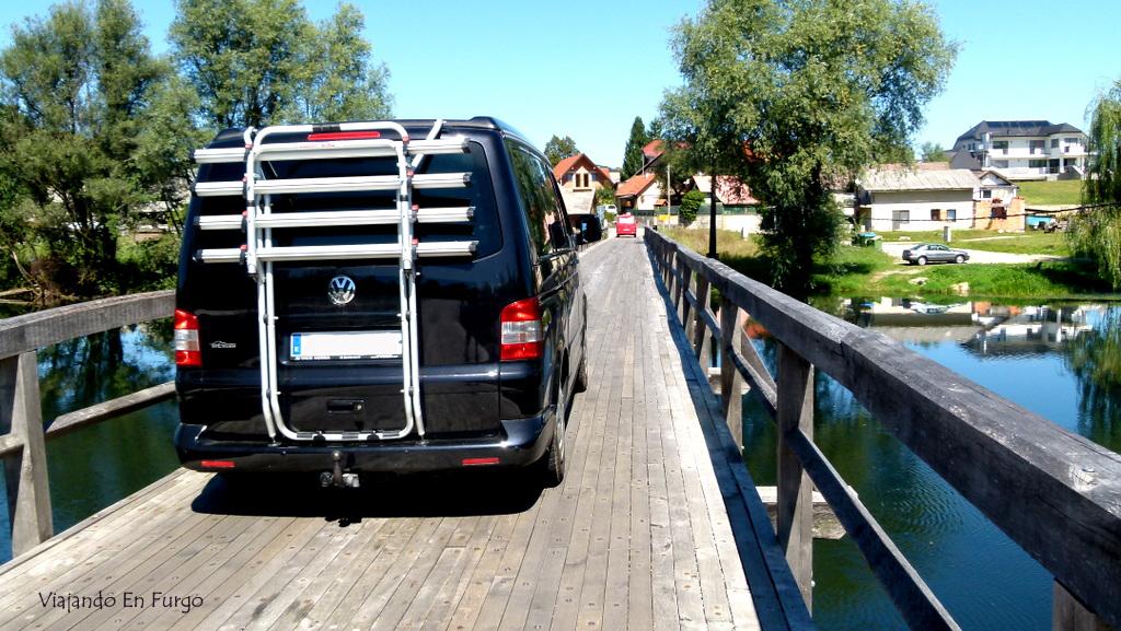 Eslovenia en furgo