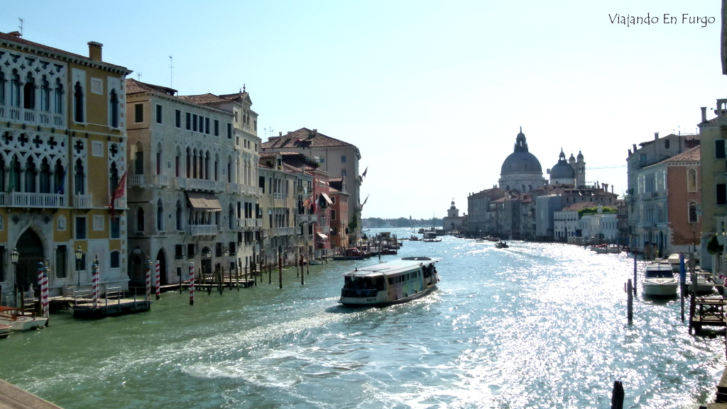 Venecia en furgo