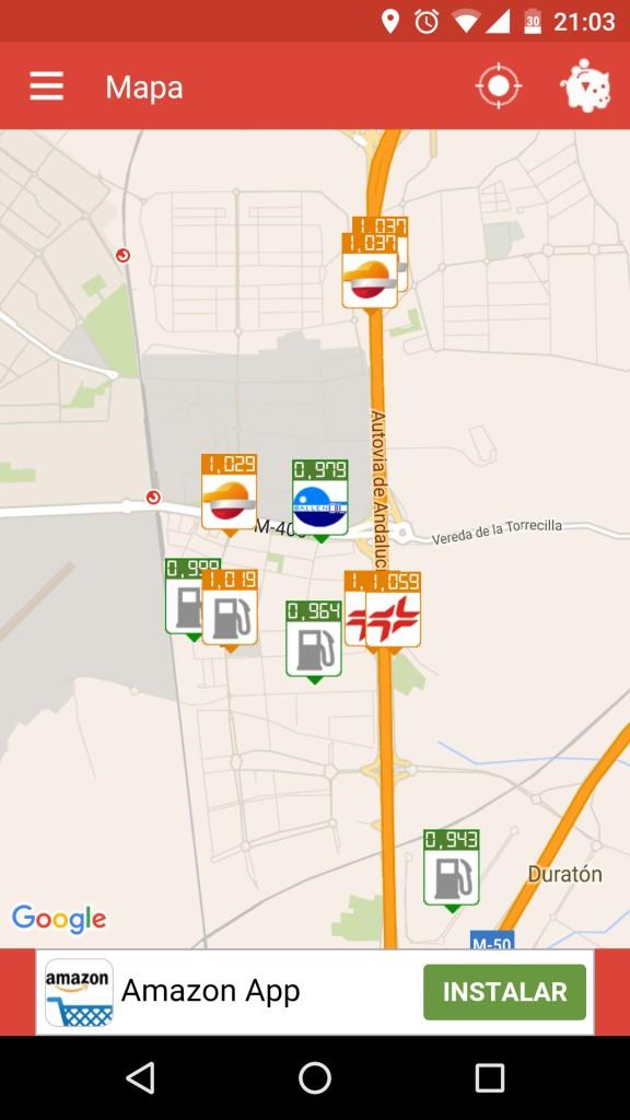 gasolineras de españa
