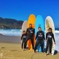 Bailando con olas, surfeando en familia