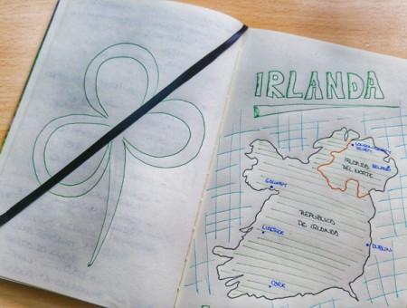 Preparando nuestro viaje a Irlanda en furgo