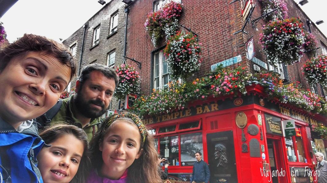 Disfrutando Dublín en familia